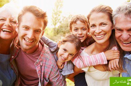 خانواده ی شاد، خانواده ی خوشبخت